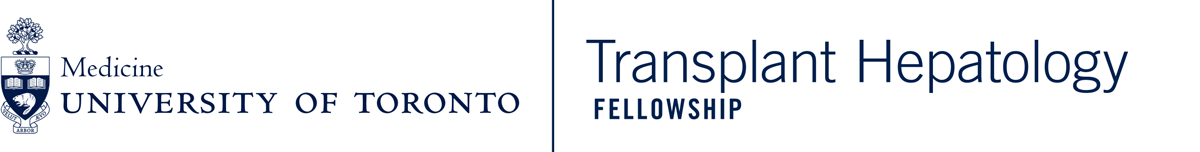 University of Toronto Transplant Hepatology Fellowship Program