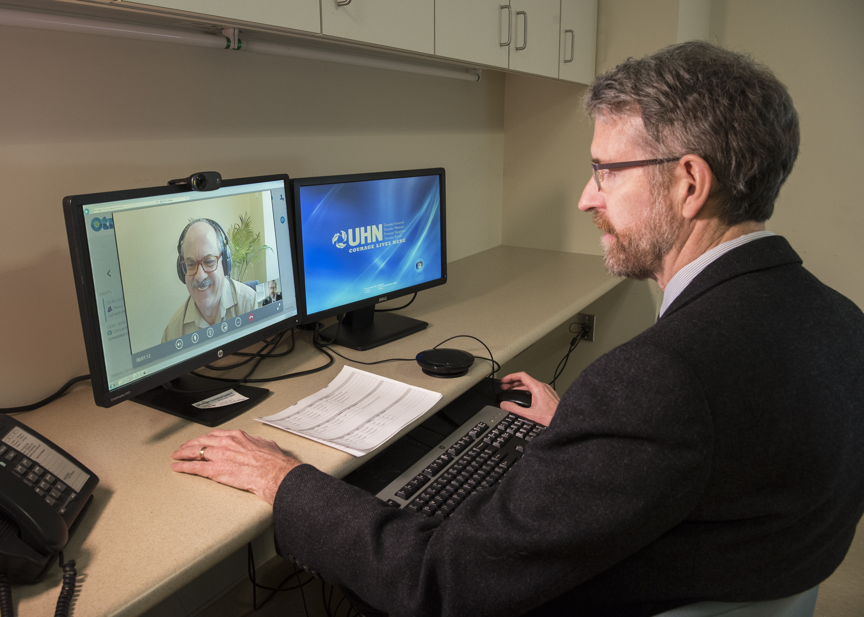 Telehealth Sim Lilly,L_UHN0967_1